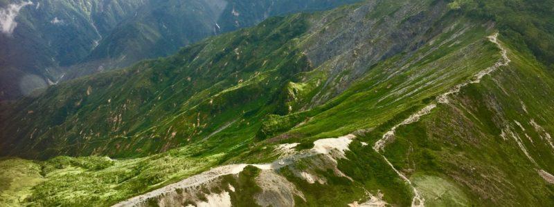 山岳遭難に伴う捜索訓練