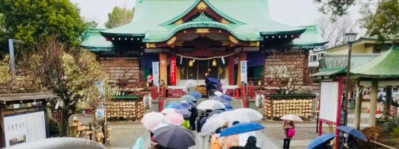 神社de献血 「亀戸天神社」(江東区)