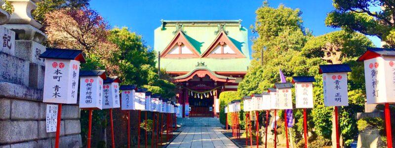 神社de献血 「八幡八雲神社」(八王子市)