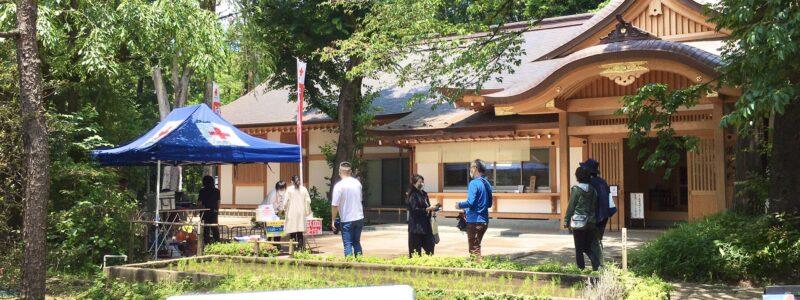 神社de献血 [石神井氷川神社] (練馬区)