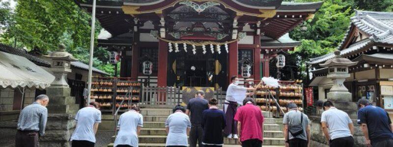 神社de献血 [南沢氷川神社] (東久留米市)
