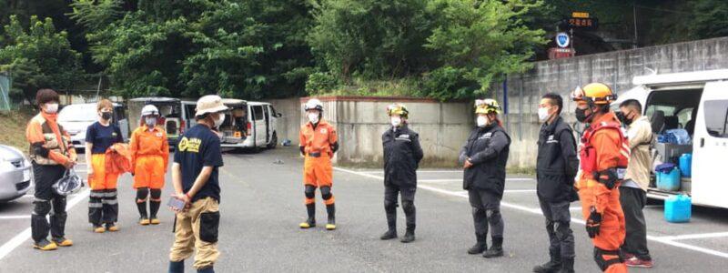 静岡県熱海市で発生した土石流災害による緊急時現地支援活動の終了について